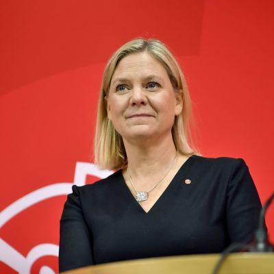 Ruotsin valtiovarainministeri Magdalena Andersson
