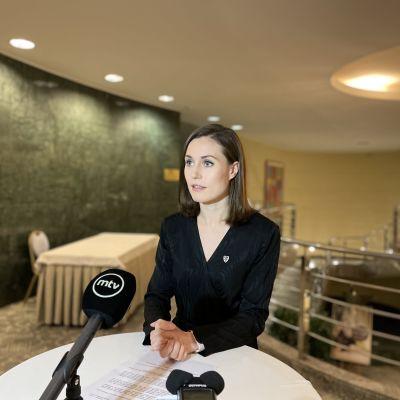 Statsminister Sanna Marin