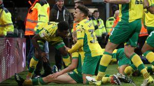 Norwich City firar.