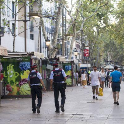 Barcelona dagen efter attacken på La Rambla.