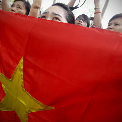 Antikinesiska protester i Hanoi, Vietnam