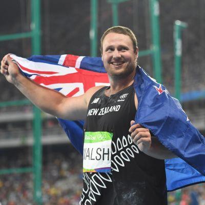 Tomas Walsh, OS 2016.