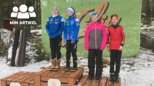 NÅID-mästerskapen skidades i Liljendal