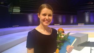 Friederike Starkloff won the third prize in the Sibelius Violin Competition.