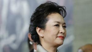 Kinas första dam Peng Liyuan.