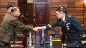 Sambandsbyrån gör det möjligt att fortsätta regelbundna militära samtal på hög nivå i Kaesong