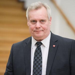 SDP:s ordförande Antti Rinne.