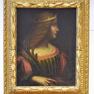Försvunna porträttet av Isabella d'Este målad av Leonardo da Vinci