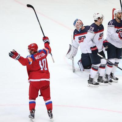 Sergej Moziakin ledde Ryssland till VM-brons.