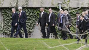 Förhandlingar om irans kärntekniska program.