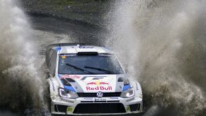 Jari-Matti Latvala i Wales 2013.