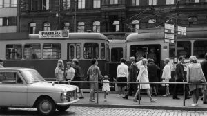 Mannerheimvägen, Helsingfors, 1967