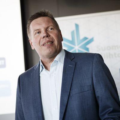 Ismo Hämäläinen är Skidförbundets nya verksamhetsledare.