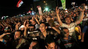 Mursi supportrar