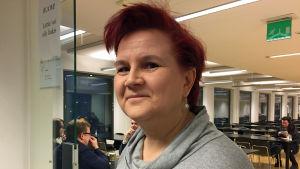 helinä Ylisirniö är ordförande för Finlands djurskyddsföreningars förbund.