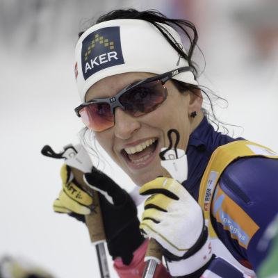 Marit Björgen, mars 2015.