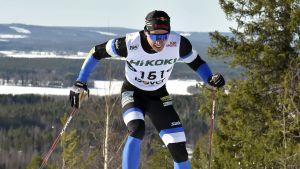 Iivo Niskanen vann 15 kilometersloppet på fredag.