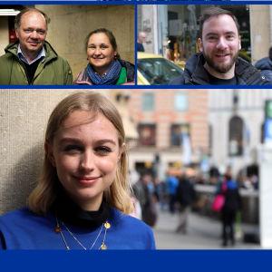 collage av européer.