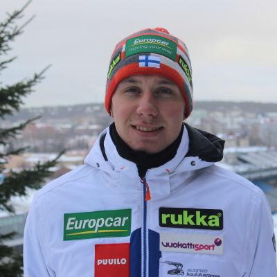 Jim Härtull inför hemma-VM i Lahtis.