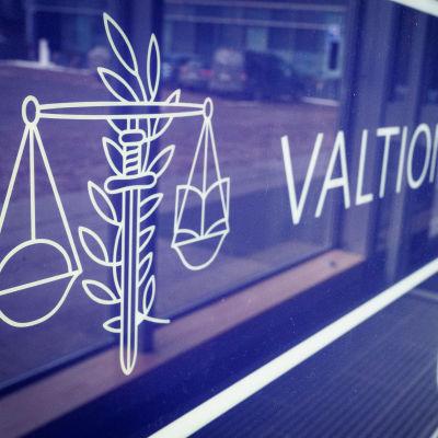 Valtiontalouden tarkastusviraston logo.