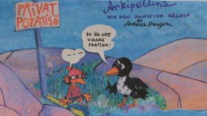 Antonia Ringboms nya film hade premiär i Korpo.