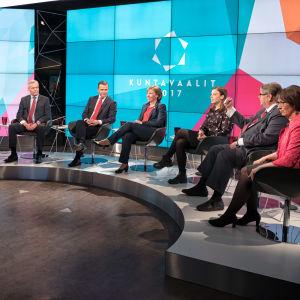 Kommunalvalet 2017, partiledardebatt