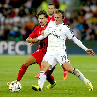 Luca Modric i Real Madrid