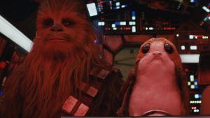 Uudessa Star Warsissa vilisee söpöjä olioita.
