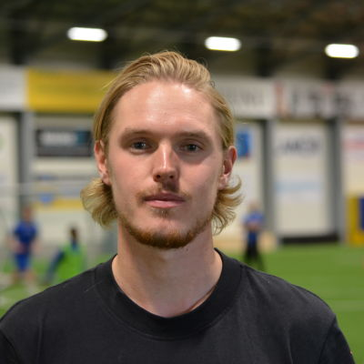 Fotbollsspelaren Fredrik Jensen