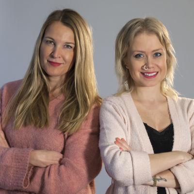 Anne Hietanen och Ida Henriksson