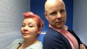 Jenny Lehtinen ja Patrik Borg