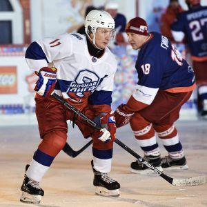 President Putin spelade ishockey 29.12.2018