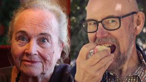 Vivi-Ann Sjögren och Esko Valtaoja.