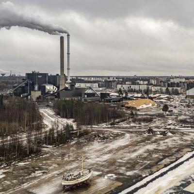 Oulun Energian lämpövoimala Oulussa