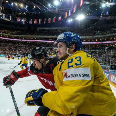 I fjol var Oliver Ekman Larsson lysande i VM i Tjeckien.