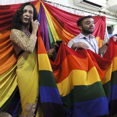 Nyhetsskolans bild till artikel om sexuella minoriteter i Indien.