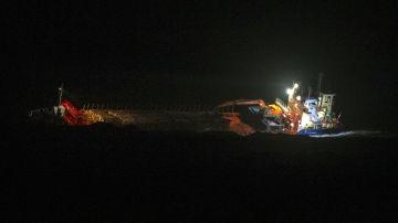 En bild på ett fraktfartyg