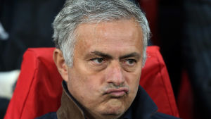 José Mourinho och Manchester United fick endast 0–0 hemma mot Valencia i onsdags.