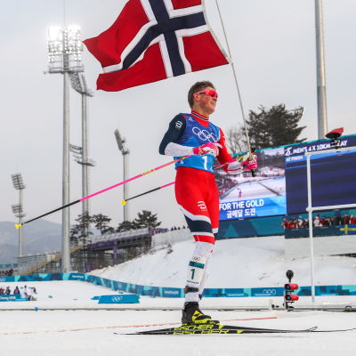 Johannes Hösflot KIäbo ligger bakom tre norska OS-guld.