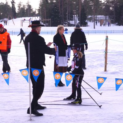 Barnens Vasalopp i Larsmo.