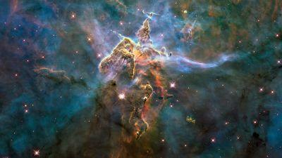 Rymdbild tagen av Hubble-teleskopet.