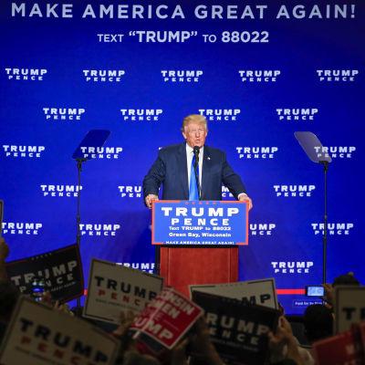 Donald Trump vann i Wisconsin med drygt 27 000 röster och experter tror inte att resultatet förändras efter omräkningen