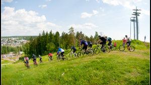 Downhill cykling