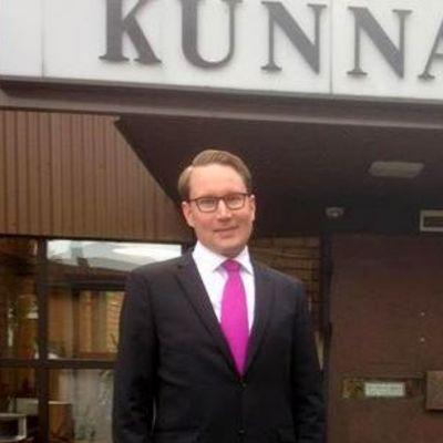 Hausjärven kunnanjohtaja Aleksi Heikkilä