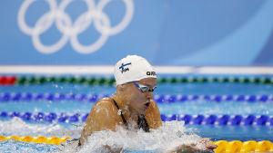 Jenna Laukkanen är en finländsk simmare.