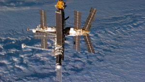 Den sovjetiska rymdstationen Mir.