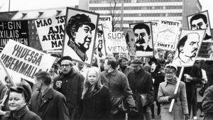Kylmän Suomen maolainen liike 1960- ja 70-luvulla oli pieni ja punainen.
