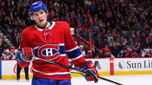 Montreal Canadiens anfallare Artturi Lehkonen.