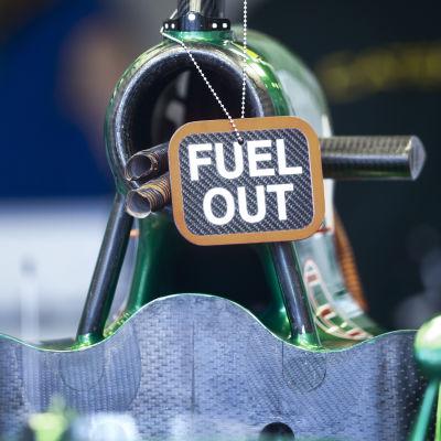 Marcus Ericssons Caterham-bil.