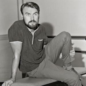 Näyttelijä Ismo Kallio vuonna 1967